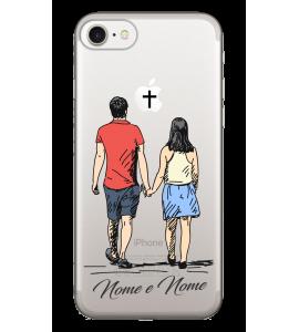 Capinha de celular (tpu premium) - Namorados 21 - Casal