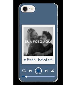 Capinha de celular (tpu premium) - Namorados 23 - Nossa Música (masculino)