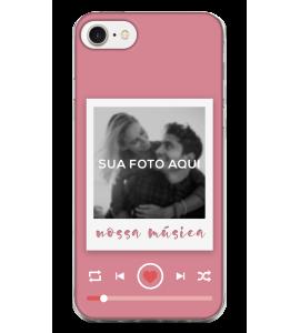 Capinha de celular (tpu premium) - Namorados 24 - Nossa música (feminino)