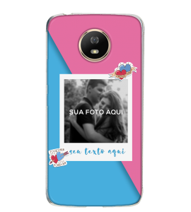 Capinha de celular (tpu premium) - Namorados 25 - Personalizado com foto e texto