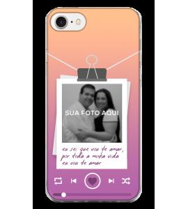 Capinha de celular (tpu premium) - Namorados 27 - Personalizado com foto e texto