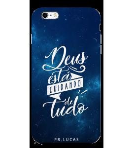 Capinha de celular (tpu premium) - Pastor Lucas 03 - Deus está cuidando de tudo