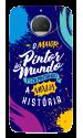 Capinha de celular (tpu premium) - Pastor Lucas 02 - O maior pintor do mundo