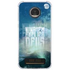 Capinha para celular - Preto no Branco 01 - Ninguém Explica Deus