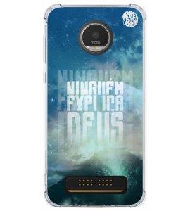 Capinha de celular - 1 Preto no Branco 01 - Ninguém Explica Deus