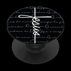 POP BLACK Gospel 186 -  Jesus estilo cruz