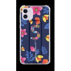 Kit Capinha com Pop-Holder - Personalizado com nome - Flores 18