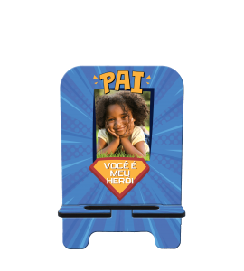 Porta-Celular Personalizado - Dia dos Pais 01 - Você é meu herói