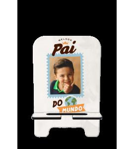 Porta-Celular Personalizado - Dia dos Pais 02 - O melhor pai do mundo