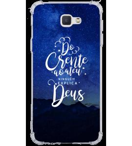 Capinha de celular - 1 GOSPEL 130 - Do crente ao ateu ninguém explica Deus