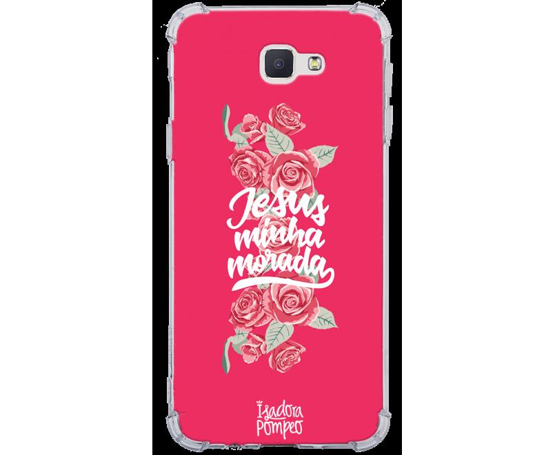 Capinha de celular - 1 Isadora Pompeo 14 - Jesus Minha Morada