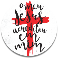 Capinha para Pop Gospel - JUNINHO BLACK 04 - O MEU JESUS ACREDITOU EM MIM
