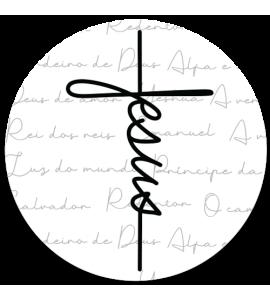 Capinha para Pop Gospel 187 - Capinha Jesus estilo cruz