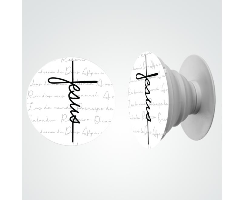 Pop Gospel 187 - Capinha Jesus estilo cruz