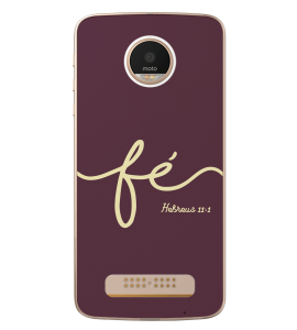 Capinha de celular (tpu premium) - GOSPEL 168 - Fé