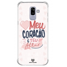 Capinha para celular - Sarah Oliveira 03 - Meu coração é teu lugar