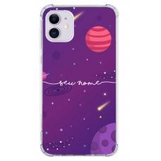 Capinha para celular - Personalizada com nome - Space 03