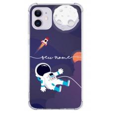 Capinha para celular - Personalizada com nome - Space 04