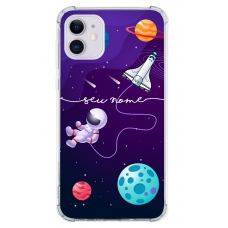 Capinha para celular - Personalizada com nome - Space 05