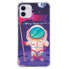 Capinha para celular - Personalizada com nome - Space 06