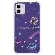 Capinha para celular - Personalizada com nome - Space 07
