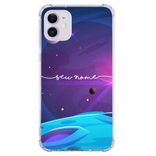 Capinha para celular - Personalizada com nome - Space 09