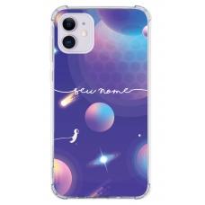 Capinha para celular - Personalizada com nome - Space 10