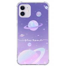 Capinha para celular - Personalizada com nome - Space 12
