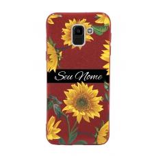 Capinha para celular Glitter Vermelha Sunflower 5