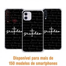 Capinha para celular - Gospel 191 - Gratidão