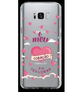 Capinha de celular - Gospel CH 15 - O meu coração é o teu lugar