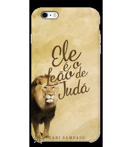 Capinha de celular (linha premium) - Gabi Sampaio 03 - Ele é o Leão de Judá