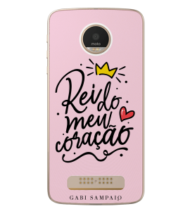 Capinha de celular (linha premium) - Gabi Sampaio 04 - Rei do meu coração