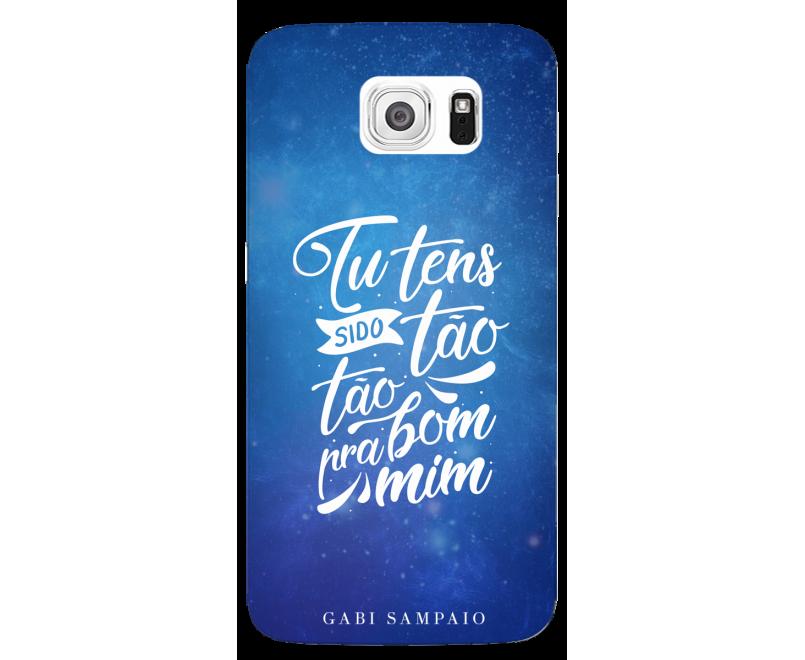 Capinha de celular (linha premium) - Gabi Sampaio 06 - Tu tens sido tão bom para mim