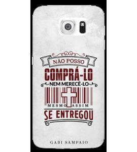 Capinha de celular (linha premium) - Gabi Sampaio 09 - Não posso comprá-lo nem merecê-lo