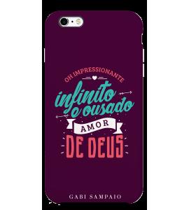 Capinha de celular - 1 Gabi Sampaio 10 - Ousado amor de Deus