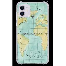 Capinha para celular - Mapa Mundi - 06