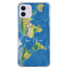 Capinha para celular - Mapa Mundi - 11