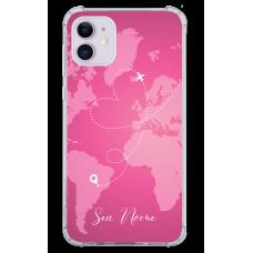 Capinha para celular - Mapa Mundi - 12