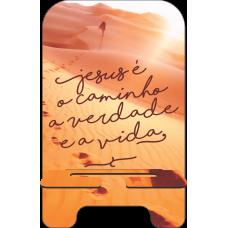 Porta-Celular Personalizado - Gospel 13 - Caminho, verdade e a vida