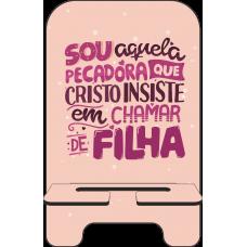 Porta-Celular Personalizado - Gospel UJ 27 - Sou aquela pecadora