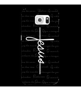 Capinha de celular (tpu premium) - GOSPEL 186 - Capinha Jesus estilo cruz