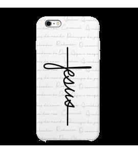 Capinha de celular (tpu premium) - GOSPEL 187 - Capinha Jesus estilo cruz