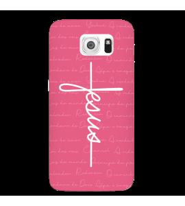 Capinha de celular (tpu premium) - GOSPEL 188 - Capinha Jesus estilo cruz