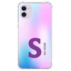 Capinha para celular - Colors 01 - Personalizada com nome