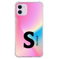 Capinha para celular - Colors 07 - Personalizada com nome