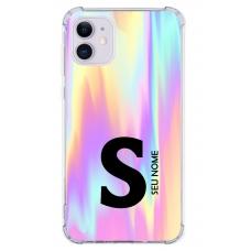 Capinha para celular - Colors 10 - Personalizada com nome