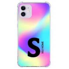 Capinha para celular - Colors 12 - Personalizada com nome