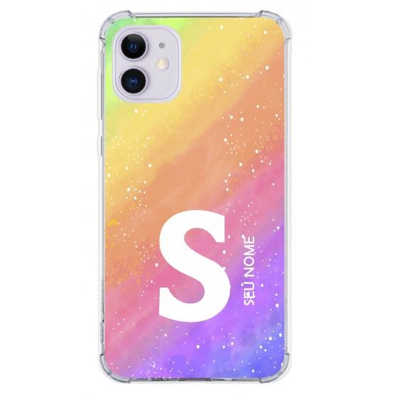 Capinha para celular - Colors 22 - Personalizada com nome