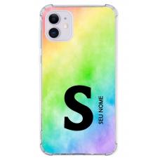 Capinha para celular - Colors 23 - Personalizada com nome